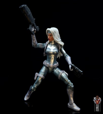 marvel legends silver sable figure review -ready for battle
