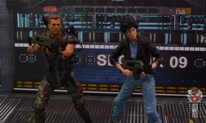 neca aliens ripley bomber jacket figure review - ready for action with hicks