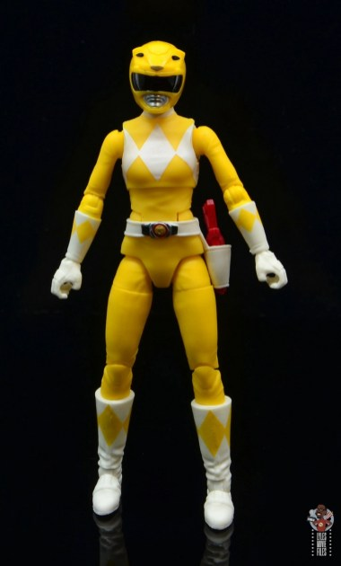 power rangers lightning collection mighy morphin yellow ranger figure review - front