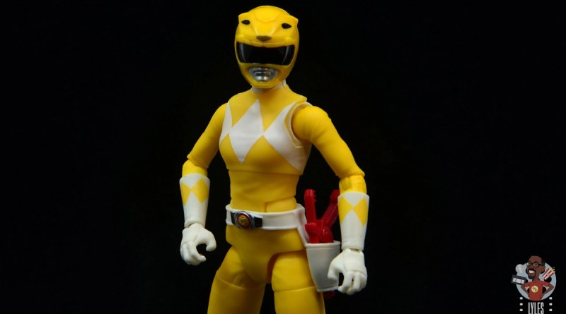 power rangers lightning collection mighy morphin yellow ranger figure review - main pic