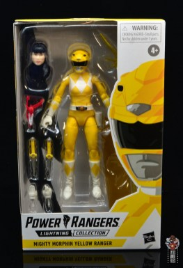 power rangers lightning collection mighy morphin yellow ranger figure review - package front
