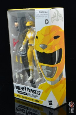 power rangers lightning collection mighy morphin yellow ranger figure review - package side