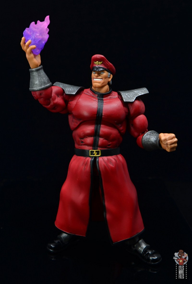 storm collectibles street fighter m. bison figure review - channeling psycho power