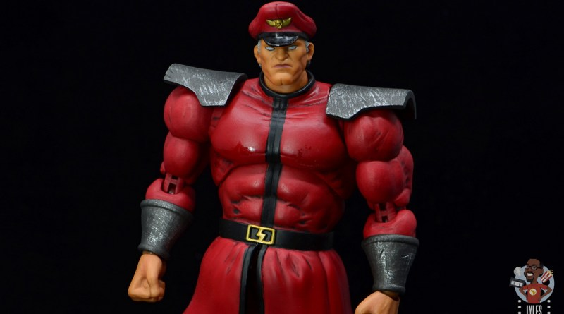 storm collectibles street fighter m. bison figure review - main pic