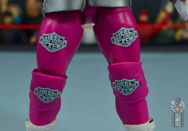 wwe elite 70 dolph ziggler figure review - tights detail