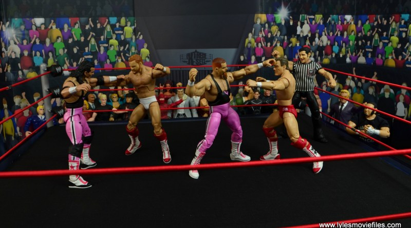13. march bashness 2020 championship - hart foundation vs four horsemen