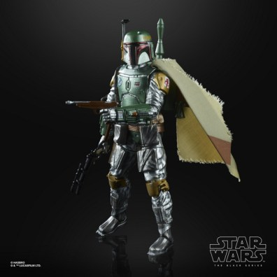 STAR WARS THE BLACK CARBONIZED COLLECTION 6-INCH BOBA FETT Figure - oop (1)