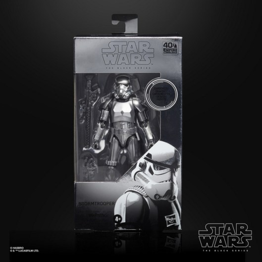 STAR WARS THE BLACK SERIES CARBONIZED COLLECTION 6-INCH STORMTROOPER Figure - in pck