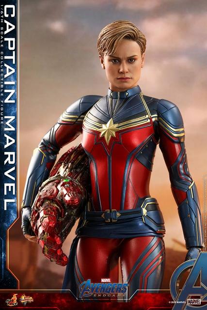 Hot Toys Avengers Endgame Captain Marvel Figure Up For Pre Order Lyles Movie Files
