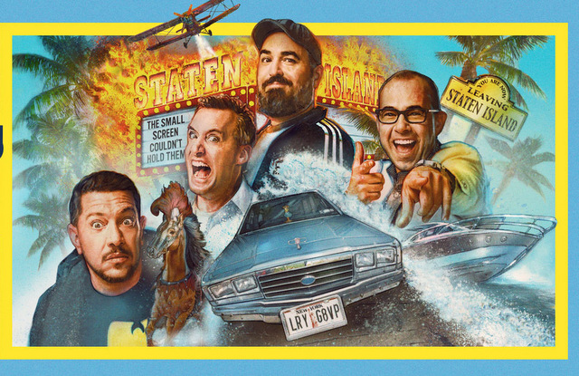 impractical jokers the movie - movie poster
