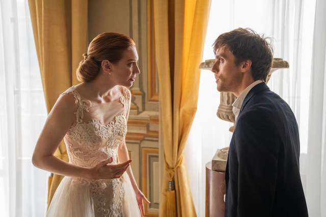 love wedding repeat review -eleanor tomlinson and jack farthing