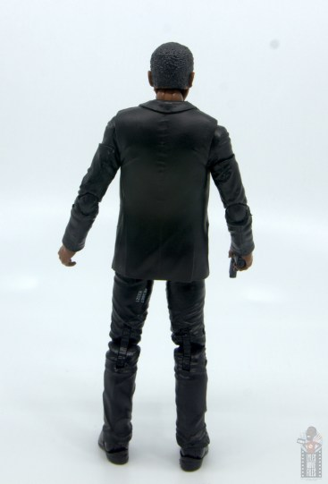 marvel legends captain marvel nick fury figure review - rear