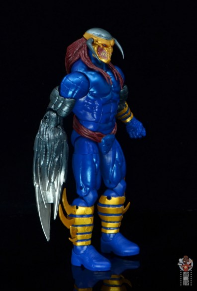 marvel legends death head ii figure review - right side