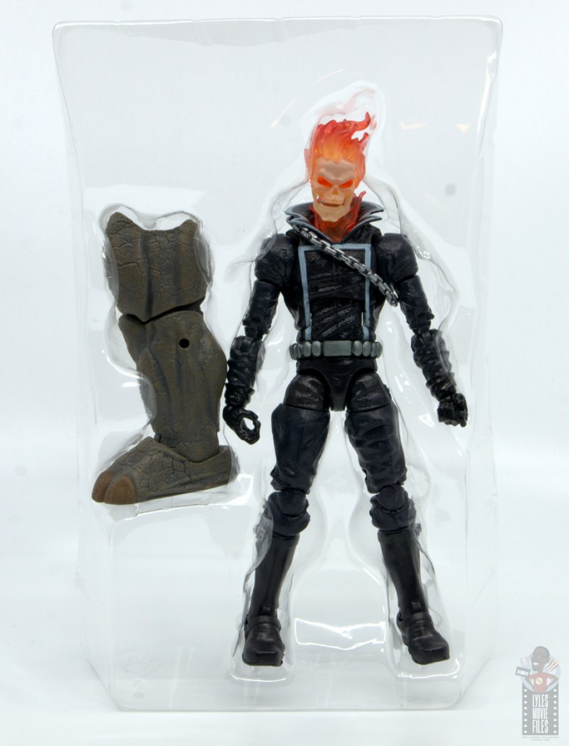 marvel legends ghost rider figure review - accessories