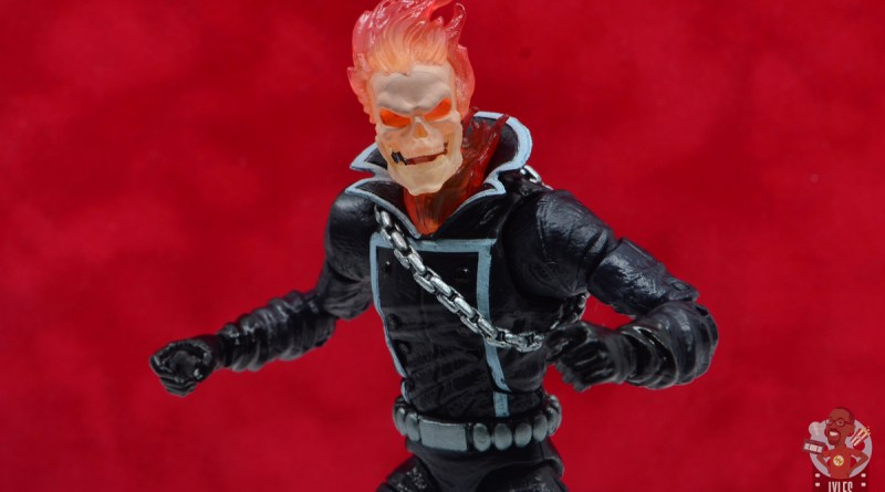marvel legends ghost rider figure review -main pic
