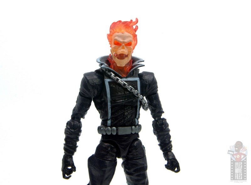 marvel legends ghost rider figure review - open mouth
