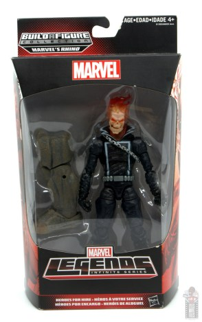 marvel legends ghost rider figure review - package front