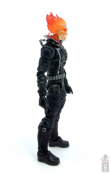 marvel legends ghost rider figure review - right side