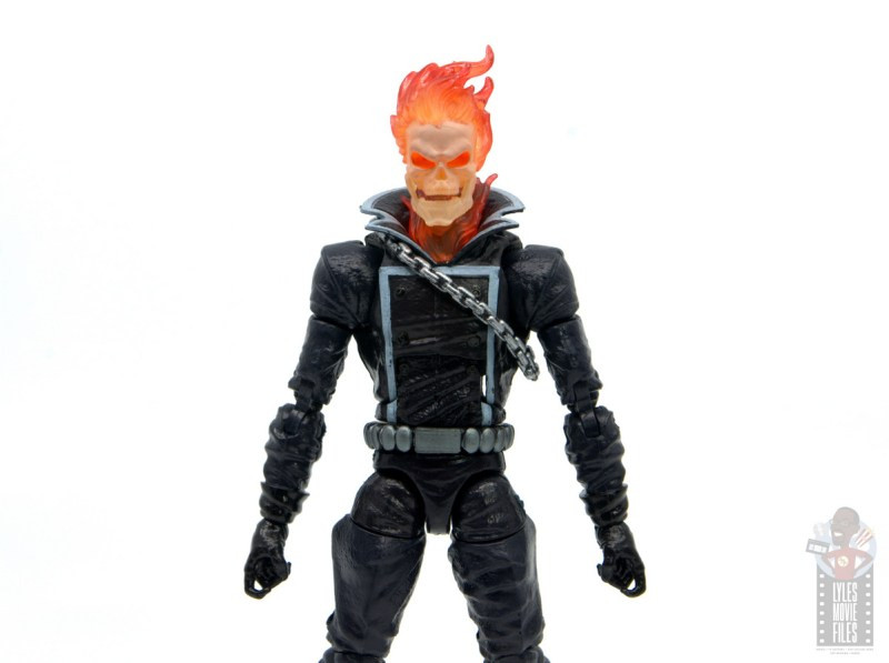 marvel legends ghost rider figure review - wide shot