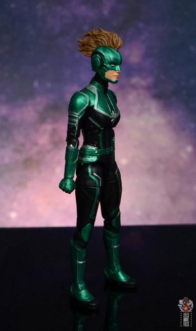 marvel legends starforce captain marvel figure review - right side