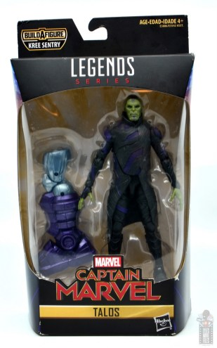 marvel legends talos figure review - package front