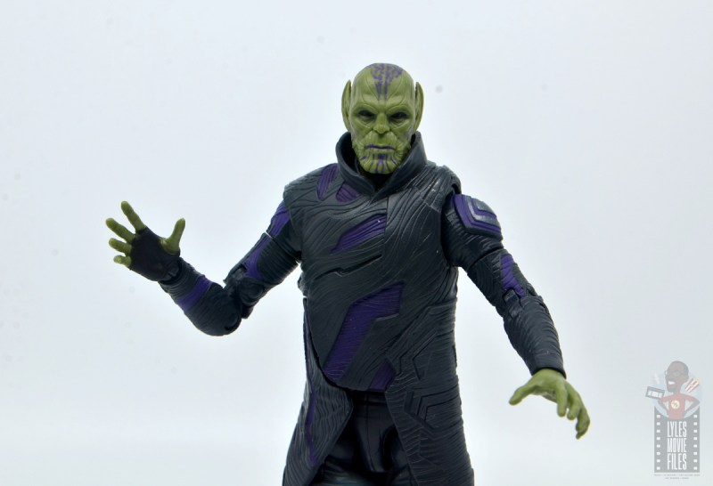 marvel legends talos figure review - wide shot