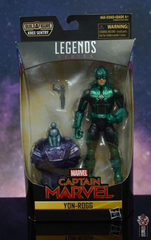 marvel legends yon-rogg figure review - package front