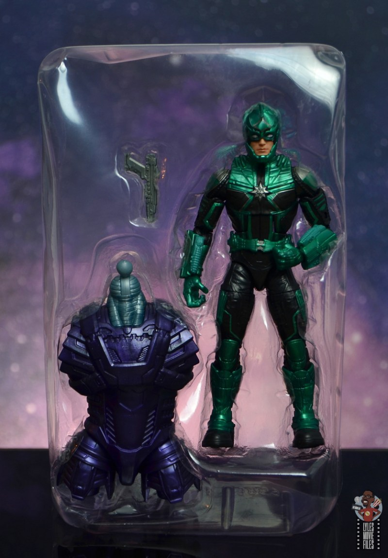 marvel legends yon-rogg figure review - with accessories