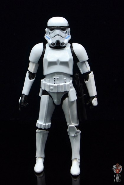 star wars the black series stormtrooper figure review - front