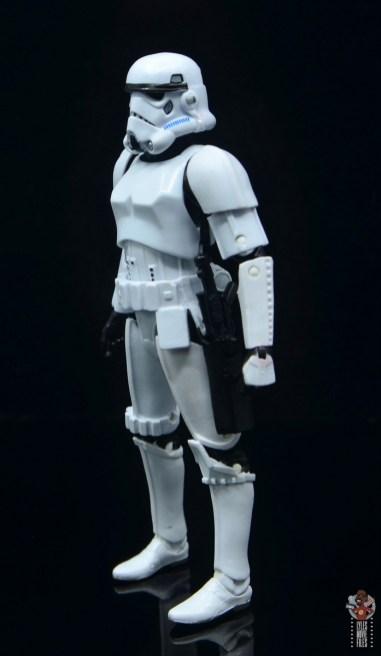 star wars the black series stormtrooper figure review - left side
