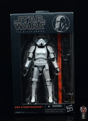 star wars the black series stormtrooper figure review - package front