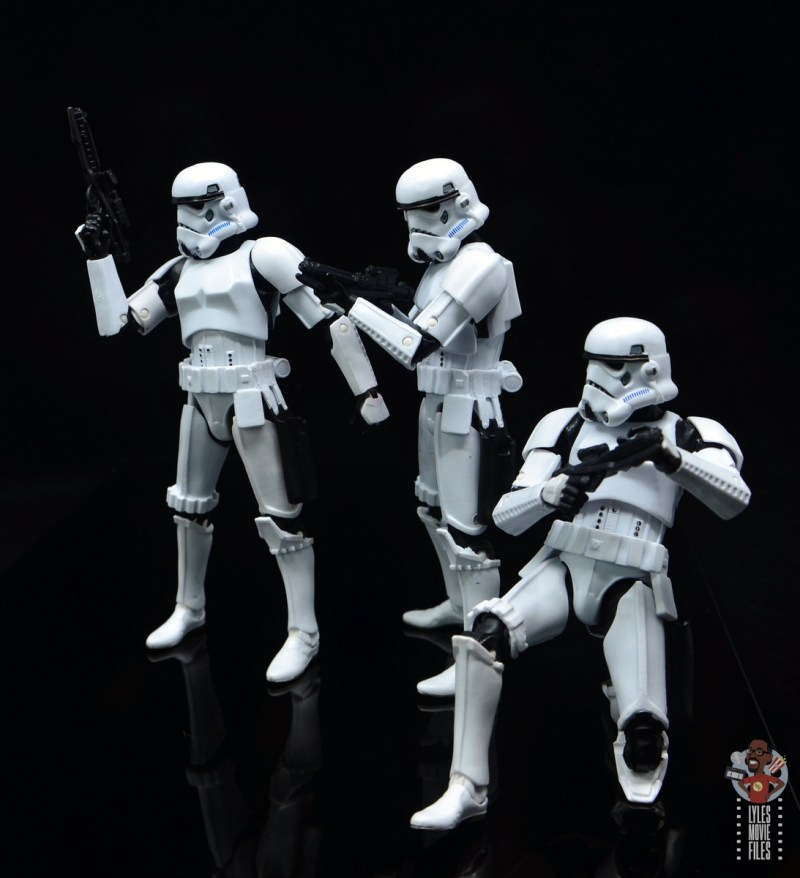 star wars the black series stormtrooper figure review - ready for action