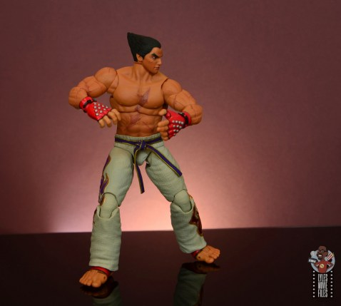 storm collectibles tekken 7 kazuya figure review - about to attack