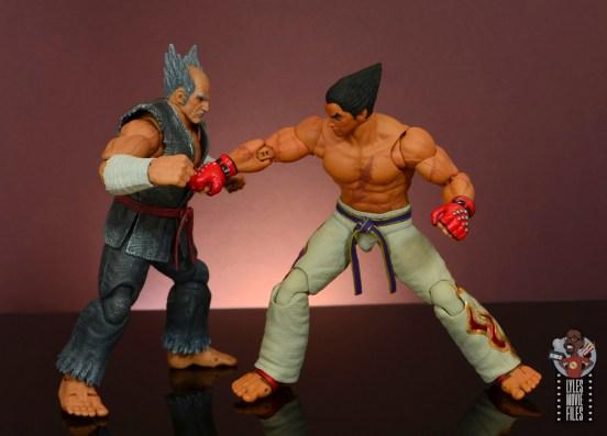 storm collectibles tekken 7 kazuya figure review - gut punch to heihachi