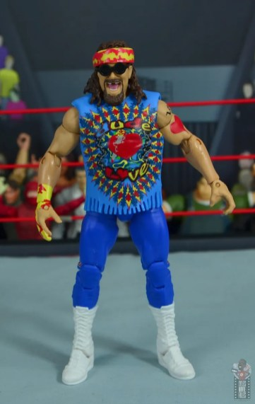 wwe elite #62 dude love figure review - front
