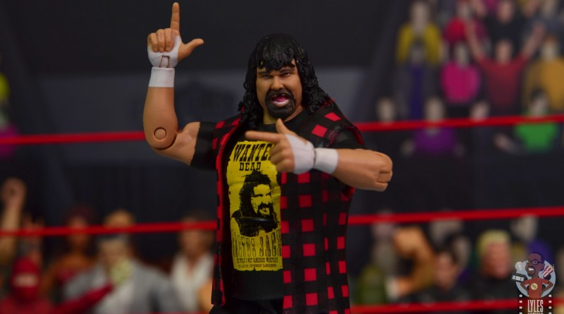 wwe wrestlemania 34 elite mick foley figure review - main pic