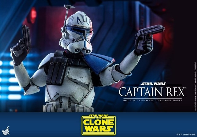 Hot Toys Star Wars clone wars figure -Main pic