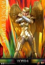 hot Toys Wonder Woman 1984 golden armor figure -standing crossed