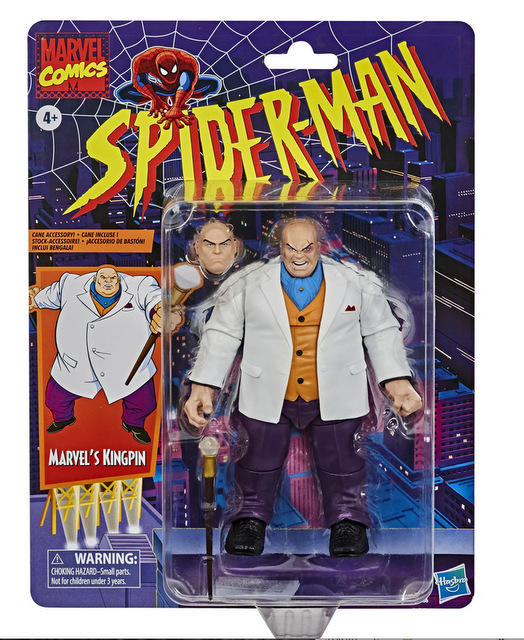 Marvel Retro Collection Kingpin Figure – packaging