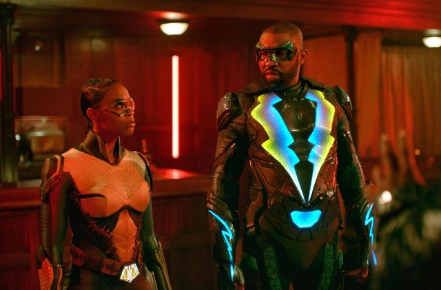 black lightning the book of rebellion chapter one exodus review - thunder and black lightning