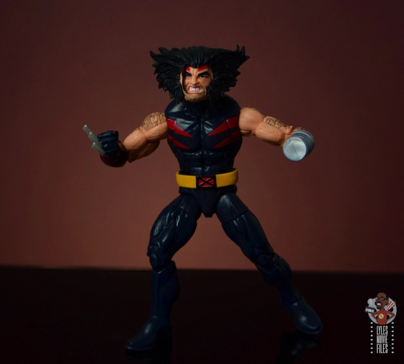 marvel legends age of apocalypse weapon x figure review - ready for action