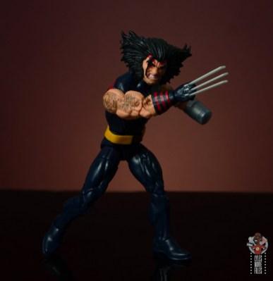 marvel legends age of apocalypse weapon x figure review - slashing