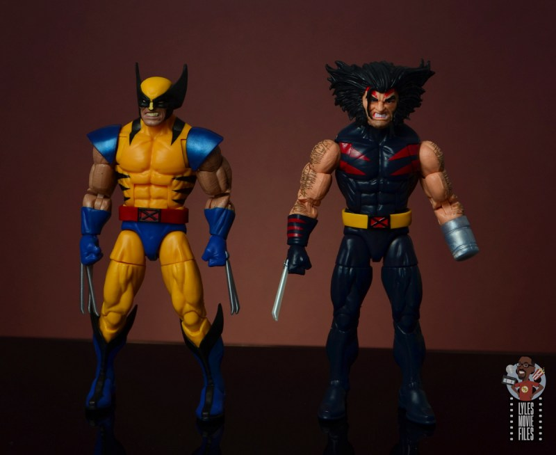 marvel legends age of apocalypse weapon x figure review - with tiger stripe wolverine