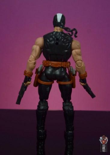 marvel legends crossbones figure review - rear