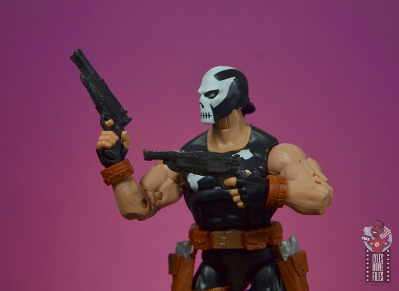 marvel legends crossbones figure review -two guns