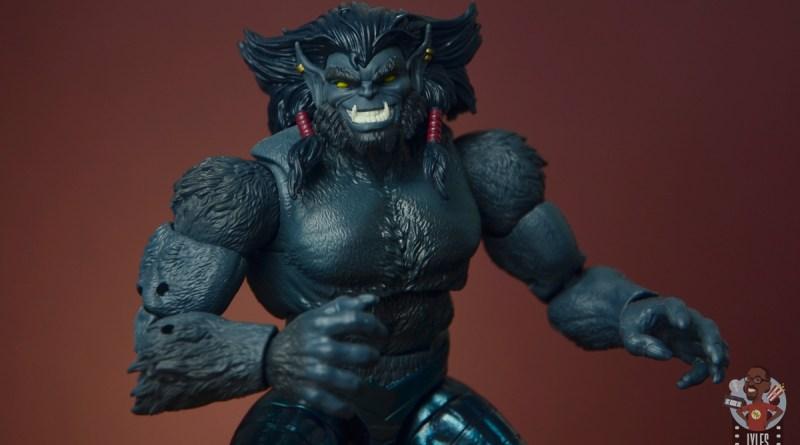 marvel legends dark beast figure review - main pic