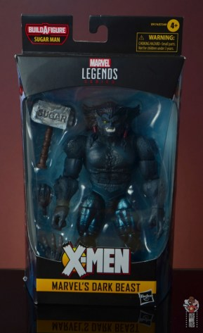 marvel legends dark beast figure review - package front