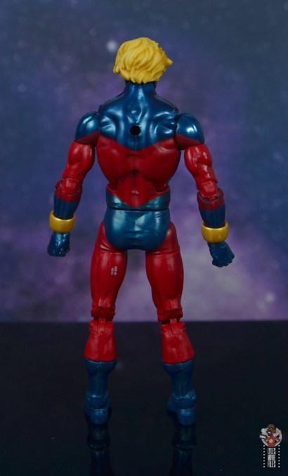 marvel legends mar-vell figure review - rear