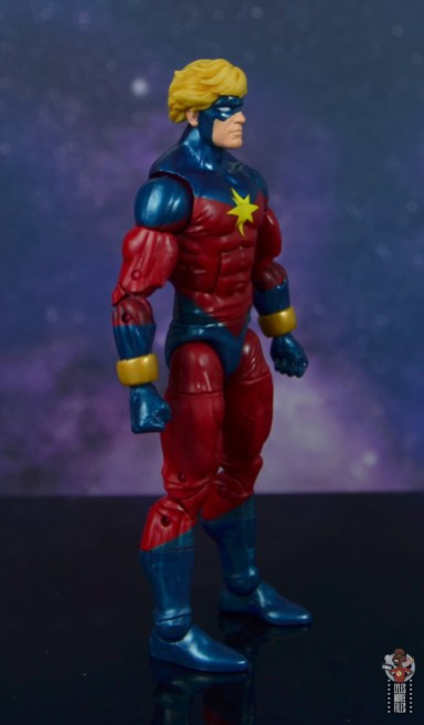 marvel legends mar-vell figure review - right side