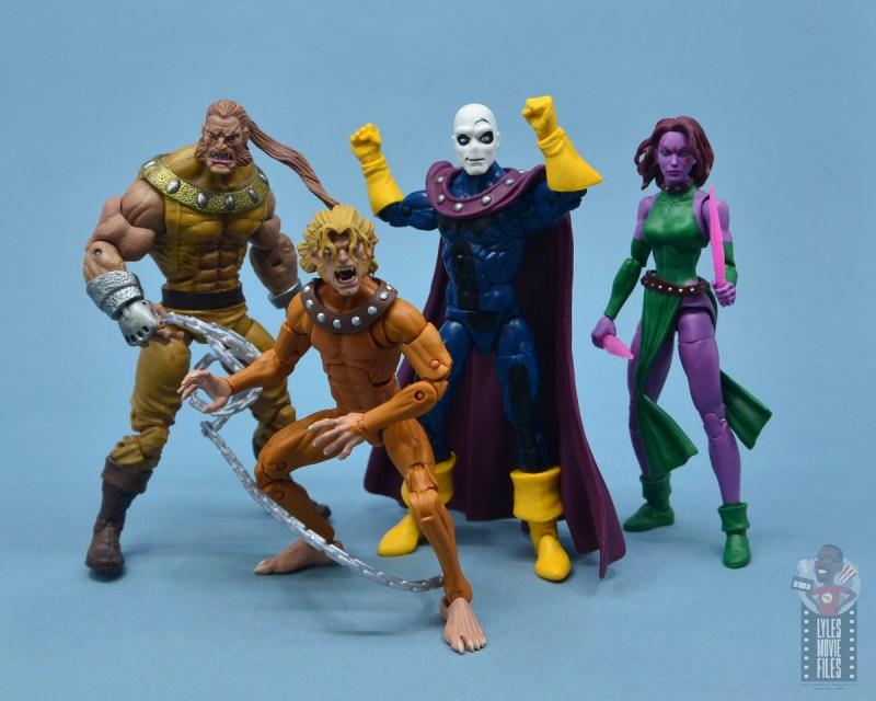 marvel legends morph figure review - astonishing x-men